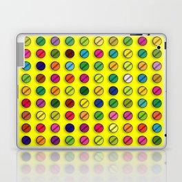 Multi-coloured Pills Pattern Laptop & iPad Skin