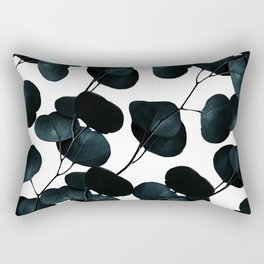 Dark Leaves #society6 #artforsale Rectangular Pillow