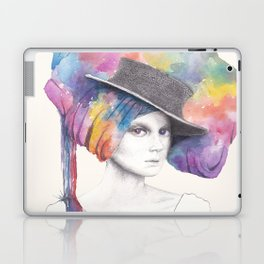 Girl with Headdress Laptop & iPad Skin
