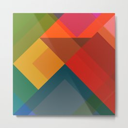 Abstract Composition 632 Metal Print