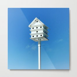 Condo with bird's eye view Metal Print