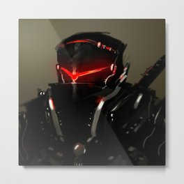 ShadowBlade Upclose Metal Print