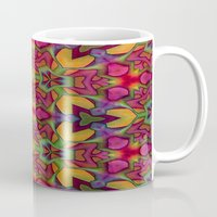 escher Mugs featuring Escher Tile by RingWaveArt