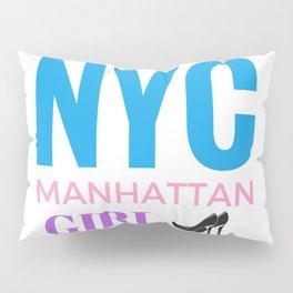 NYC Girl Pillow Sham