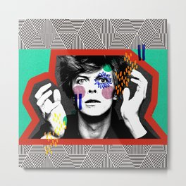 King Bowie Metal Print