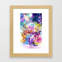 MLP my little pony Framed Art Print