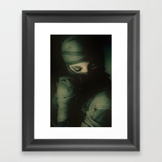 Hidden self Framed Art Print