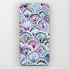 Mermaid Medallion iPhone & iPod Skin