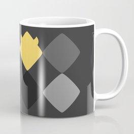 Geometric Rebelion in the Gray World Coffee Mug
