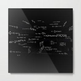 Mathspace - High Math Inspiration Metal Print