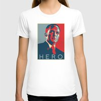 hero T-shirts featuring Hero by Skylofts Merch