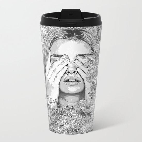 It's Alright Metal Travel Mug