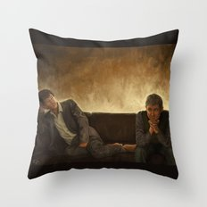 When you say nothing at all Throw Pillow