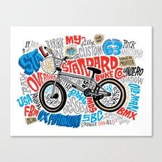 All My Bikes: STA-L Canvas Print