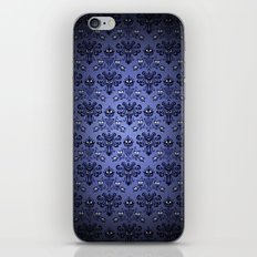 Beauty Haunted Mansion Wallpaper Stretching Room iPhone & iPod Skin