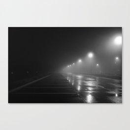 Noir Fog Canvas Print