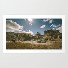Castle hill 3 Art Print