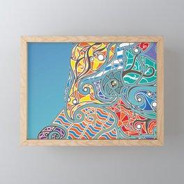 Bright Bear Framed Mini Art Print