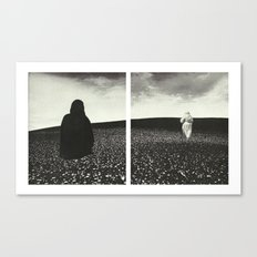 Ghost Diptych Canvas Print