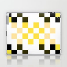 Yellow Pixel Laptop & iPad Skin