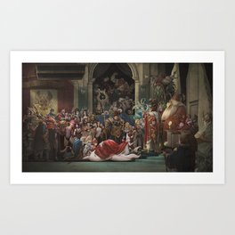 Coronation JarvanIV Art Print