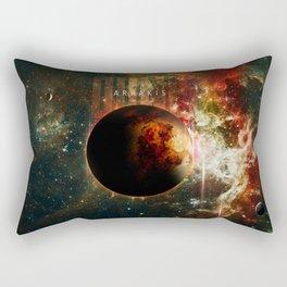 DUNE Planet Arrakis Poster Rectangular Pillow