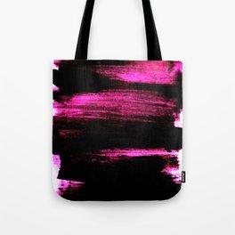 black and pink Tote Bag