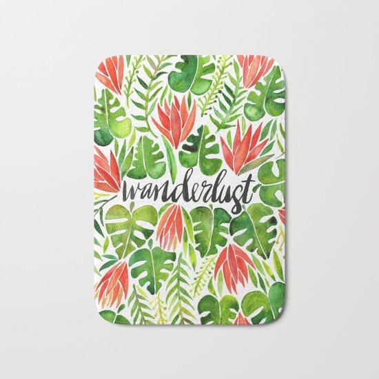 Tropical Wanderlust – Watermelon Palette Bath Mat