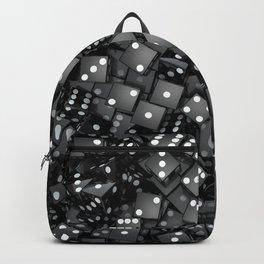Black dice Backpack