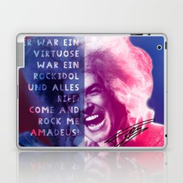 Rock Me Amadeus Laptop & iPad Skin