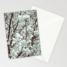 Winter Petals Stationery Cards