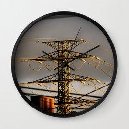 Power Tower Wall Clock