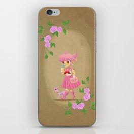 Retro Sailor Chibi Moon iPhone Skin