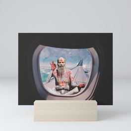 EVERYTHING IS OKAY - YOGI MEDIATION Mini Art Print