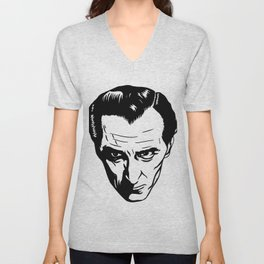 Peter Cushing from Hammer Unisex V-Neck