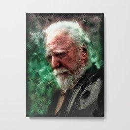 Walking Dead: Hershel Metal Print