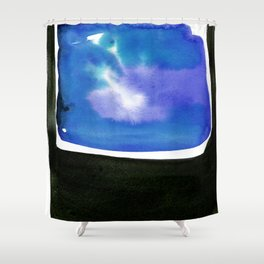 Introspection 2F by Kathy Morton Stanion Shower Curtain