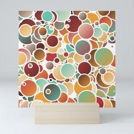 Assorted bubbles Mini Art Print