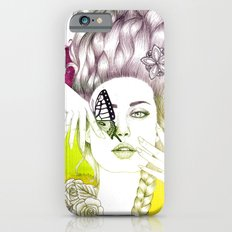 Butterfly Lady iPhone 6s Slim Case