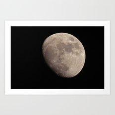 moon set 01 Art Print
