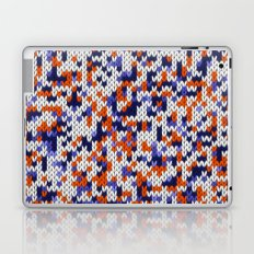 Knitted multicolor pattern 4 Laptop & iPad Skin