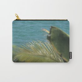 Leafy Blue Carry-All Pouch
