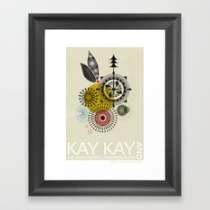 Kay Kay and His Weathered Underground Framed Art Print