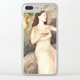 Melissa ~ A Compendium Of Witches Clear iPhone Case