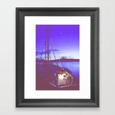 Twilight Sea Framed Art Print