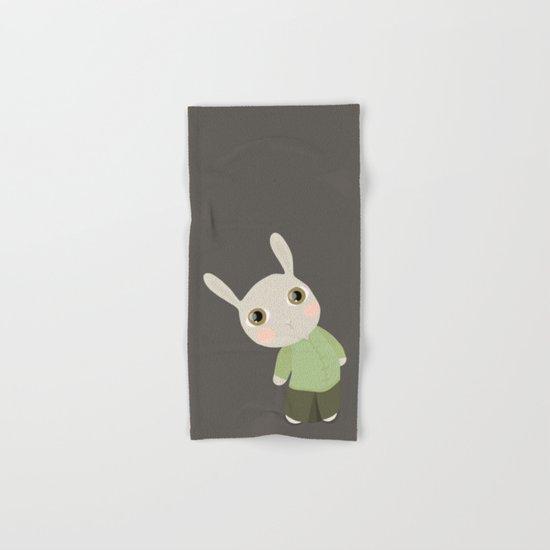 Chinese Rabbit Hand & Bath Towel