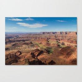 Colorado Below Canvas Print