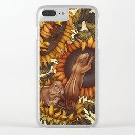 Autumn Clear iPhone Case