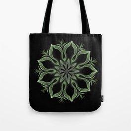 Alien Mandala Swirl Tote Bag