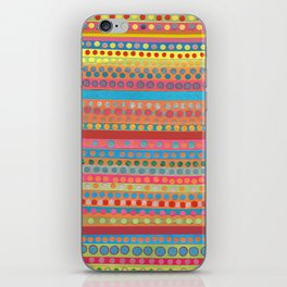 Fusion Multi Dots & Stripes iPhone Skin
